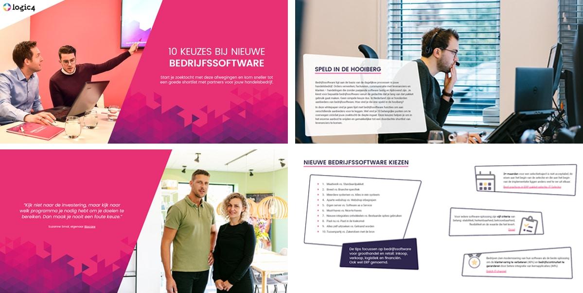 Whitepaper 10 keuzes bij nieuwe bedrijfssoftware - preview
